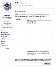 Wikinamen als Editor hinzufügen