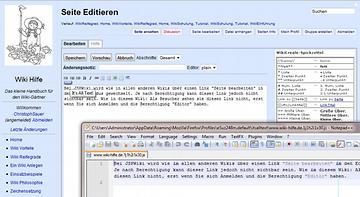 Plain Editor in Kombination mit Its all Text und NotepadPP